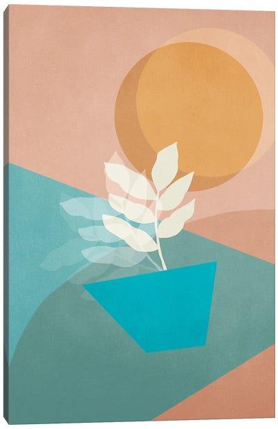 Mid century vibes 04 Canvas Art Print