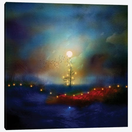 A Beautiful Christmas Canvas Print #VGO14} by Viviana Gonzalez Canvas Art Print