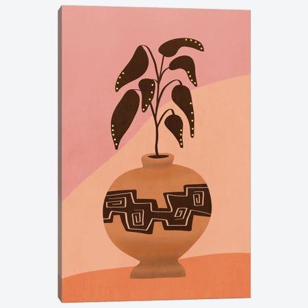 Plant In A Pot IV Canvas Print #VGO153} by Viviana Gonzalez Canvas Art Print