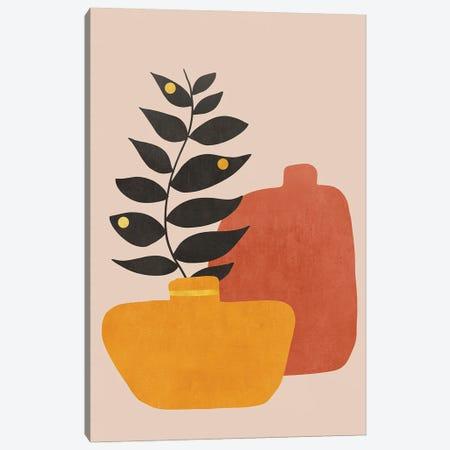 Plant In A Pot I Canvas Print #VGO159} by Viviana Gonzalez Canvas Print