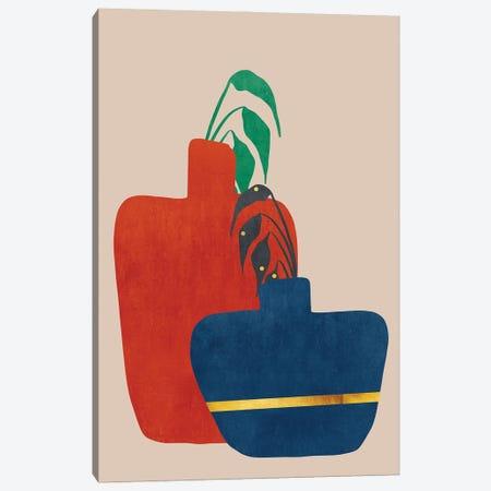 Plant In A Pot II Canvas Print #VGO160} by Viviana Gonzalez Canvas Wall Art