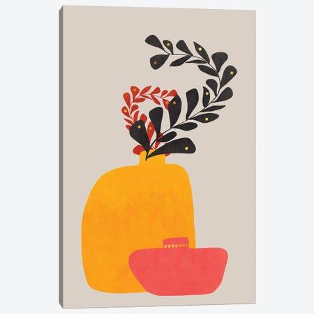 Plant In A Pot III Canvas Print #VGO161} by Viviana Gonzalez Canvas Wall Art