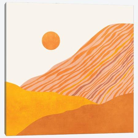 Minimal Abstract Sunset I Canvas Print #VGO166} by Viviana Gonzalez Canvas Art Print