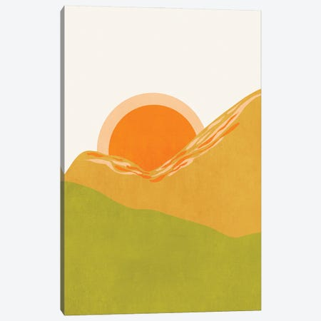 Minimal Abstract Sunset Ii Canvas Print #VGO167} by Viviana Gonzalez Canvas Print