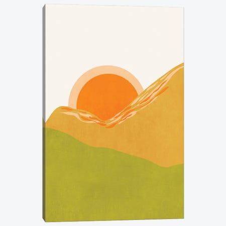 Minimal Abstract Sunset Ii Canvas Print #VGO167} by Viviana Gonzalez Canvas Print