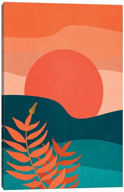 A tropical landscape I Canvas Art Print