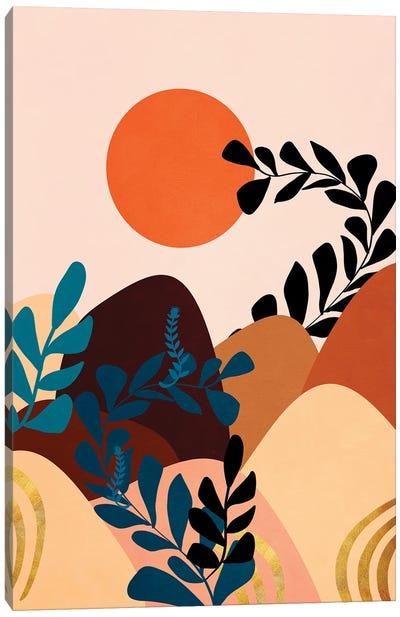 A tropical landscape III Canvas Art Print