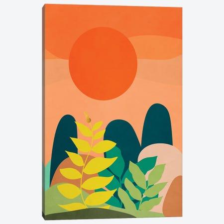A tropical landscape II Canvas Print #VGO173} by Viviana Gonzalez Art Print
