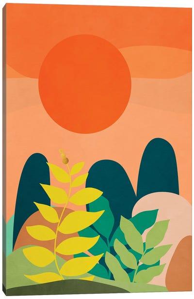 A tropical landscape II Canvas Art Print