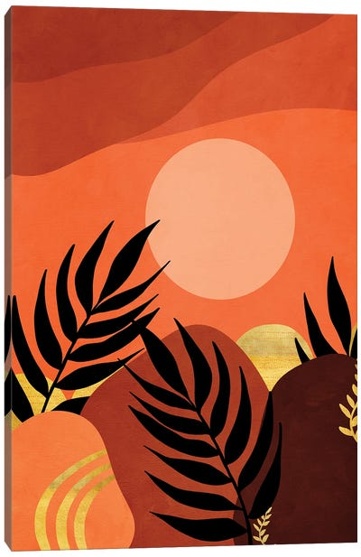 A tropical landscape IV Canvas Art Print