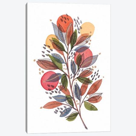 Modern Watercolor Botanicals III Canvas Print #VGO176} by Viviana Gonzalez Canvas Artwork