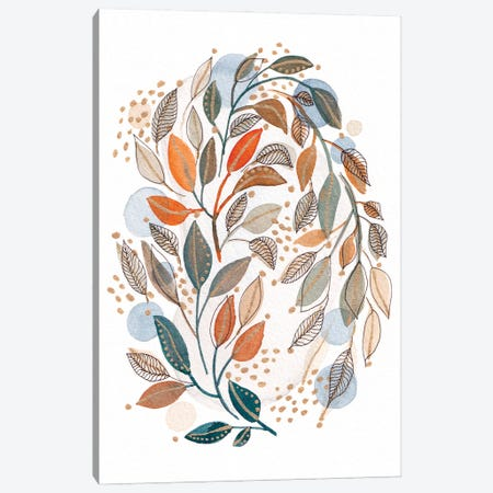 Modern Watercolor Botanicals IV Canvas Print #VGO177} by Viviana Gonzalez Canvas Artwork