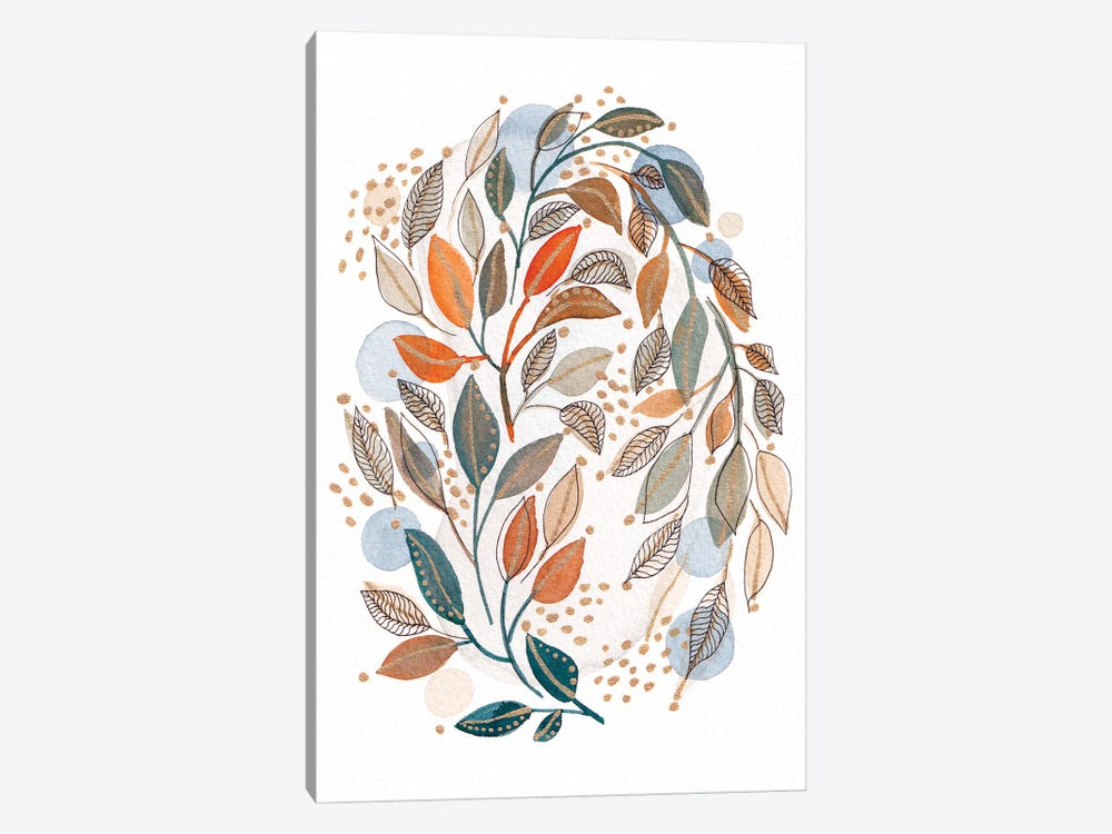 Modern Watercolor Botanicals IV by Viviana Gonzalez 1-piece Canvas Art Print