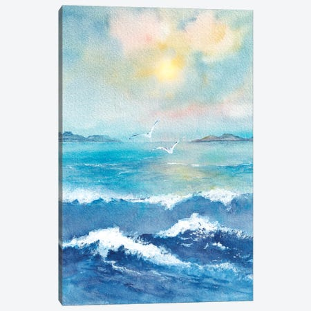 Ocean View Canvas Print #VGO181} by Viviana Gonzalez Canvas Art