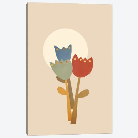 Floral Beauty I Canvas Print #VGO183} by Viviana Gonzalez Canvas Wall Art
