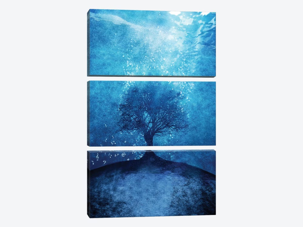 Songs From The Sea by Viviana Gonzalez 3-piece Canvas Wall Art