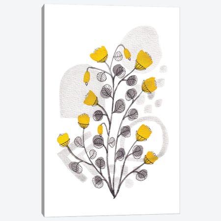 Organic Watercolor Botanicals I Canvas Print #VGO195} by Viviana Gonzalez Canvas Wall Art