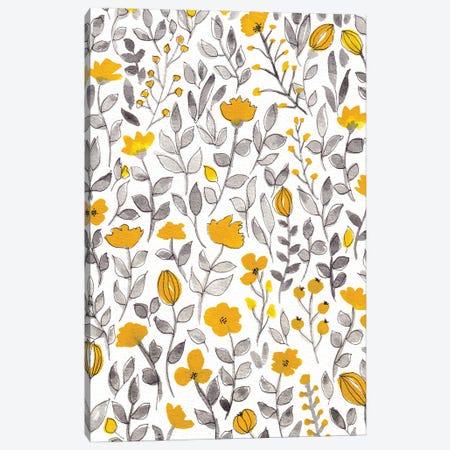 Organic Watercolor Botanicals II Canvas Print #VGO196} by Viviana Gonzalez Canvas Art