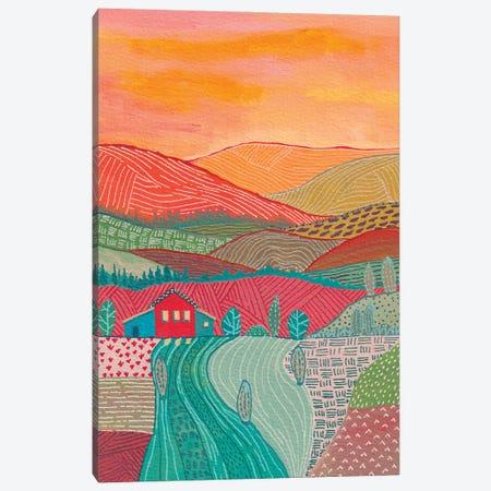Warm Landscape Canvas Print #VGO198} by Viviana Gonzalez Canvas Print