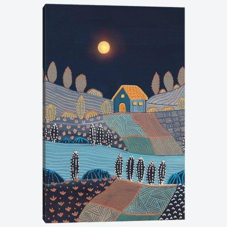 Midnight Landscape Canvas Print #VGO199} by Viviana Gonzalez Canvas Art Print