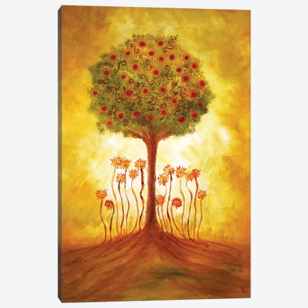 Energy From The Tree Canvas Print #VGO1} by Viviana Gonzalez Canvas Wall Art