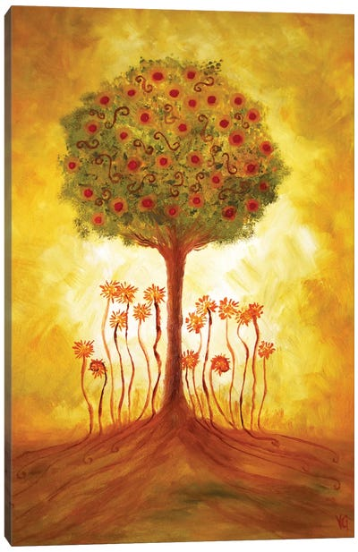 Energy From The Tree by Viviana Gonzalez Canvas Art Print
