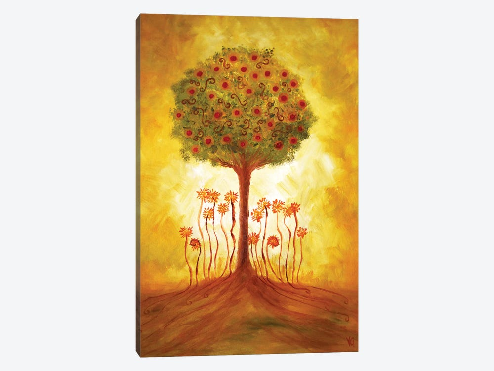 Energy From The Tree by Viviana Gonzalez 1-piece Canvas Wall Art