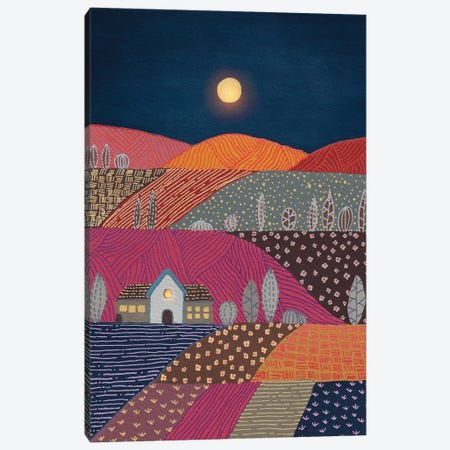 Midnight Landscape II Canvas Print #VGO200} by Viviana Gonzalez Canvas Print