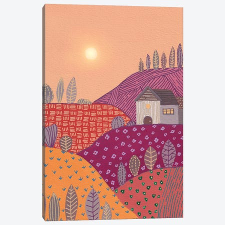 Warm Landscape II Canvas Print #VGO201} by Viviana Gonzalez Canvas Art Print
