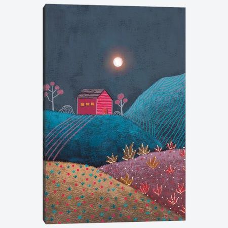 Midnight Landscape III Canvas Print #VGO202} by Viviana Gonzalez Art Print