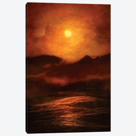 Sunset Canvas Print #VGO20} by Viviana Gonzalez Canvas Print