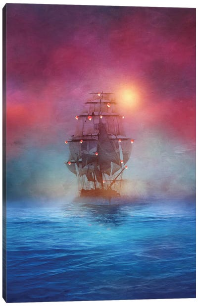 The Lights Canvas Art Print