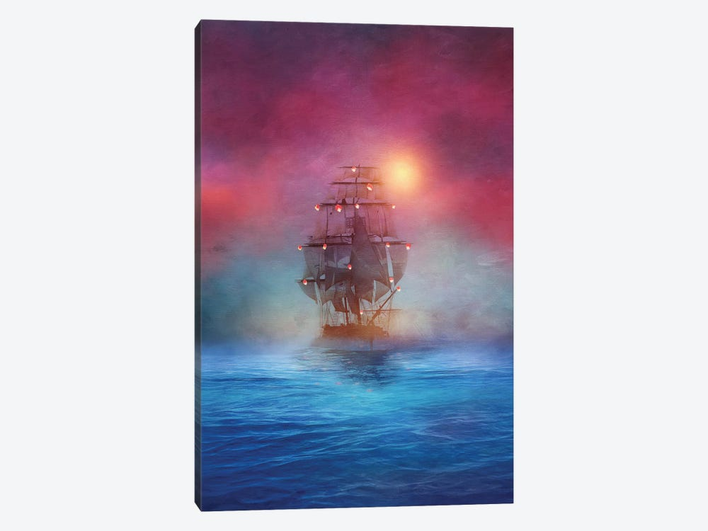 The Lights 1-piece Canvas Wall Art