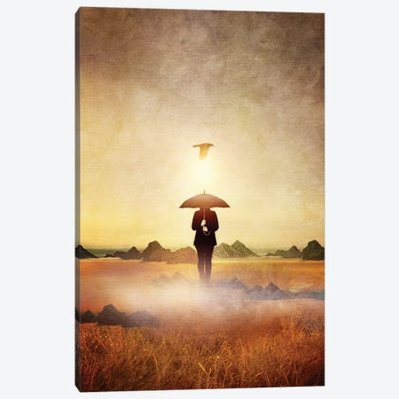 Waiting For The Rain Canvas Print #VGO26} by Viviana Gonzalez Canvas Wall Art
