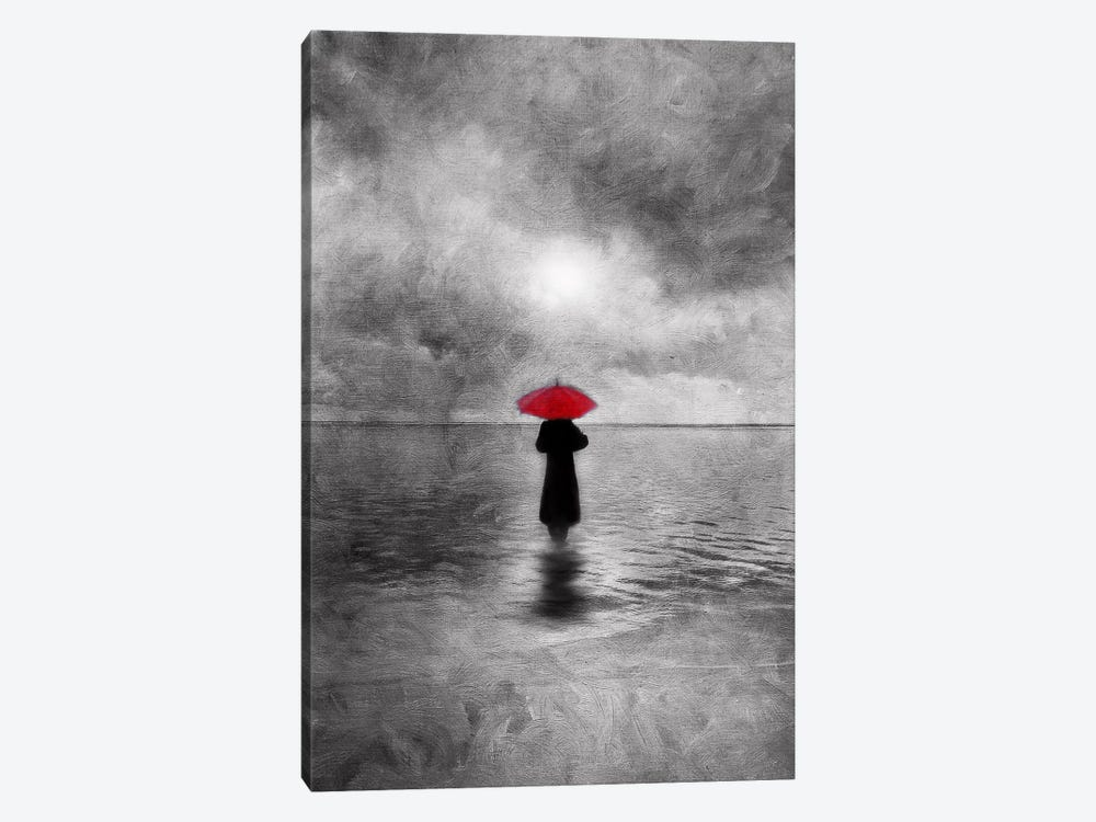 Waiting In The Sea by Viviana Gonzalez 1-piece Canvas Art