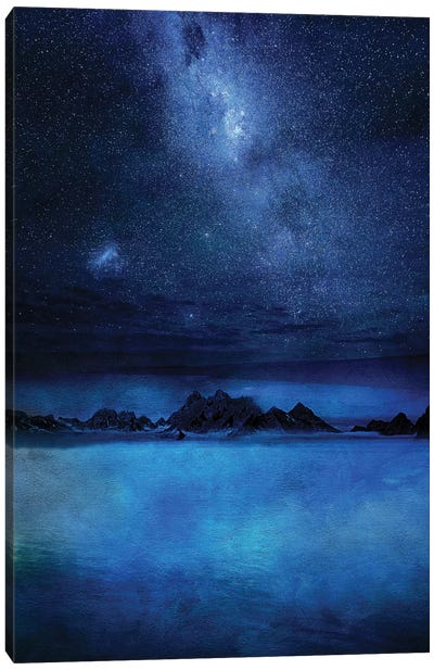 Wish You Were Here Canvas Art Print
