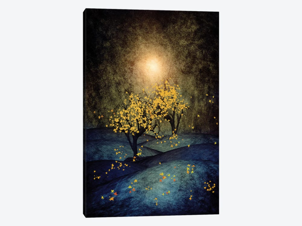 Yellow Autumn by Viviana Gonzalez 1-piece Canvas Artwork