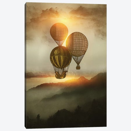 A Trip Down The Sunset Canvas Print #VGO33} by Viviana Gonzalez Canvas Artwork