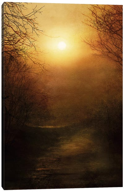 April Ethereal Canvas Art Print