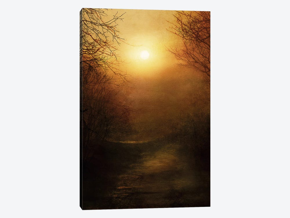April Ethereal 1-piece Canvas Art Print