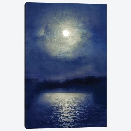 Calm Water 3-Piece Canvas #VGO38} by Viviana Gonzalez Canvas Art