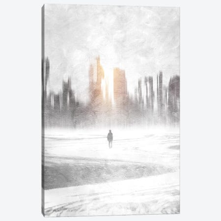 Grey Hope Canvas Print #VGO3} by Viviana Gonzalez Canvas Artwork