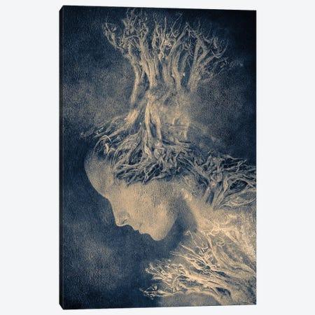 Dark Portrait I Canvas Print #VGO40} by Viviana Gonzalez Canvas Print