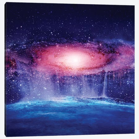 Andromeda Waterfall Canvas Print #VGO45} by Viviana Gonzalez Canvas Art