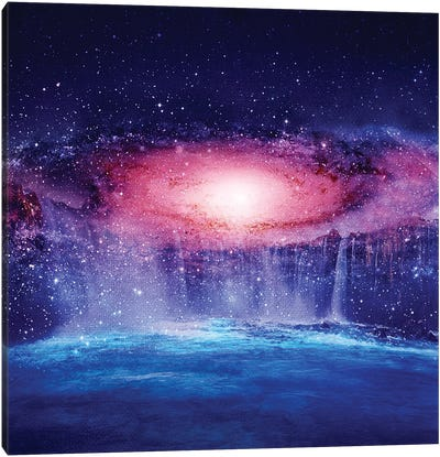 Andromeda Waterfall Canvas Art Print