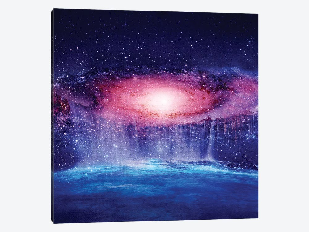 Andromeda Waterfall by Viviana Gonzalez 1-piece Canvas Wall Art