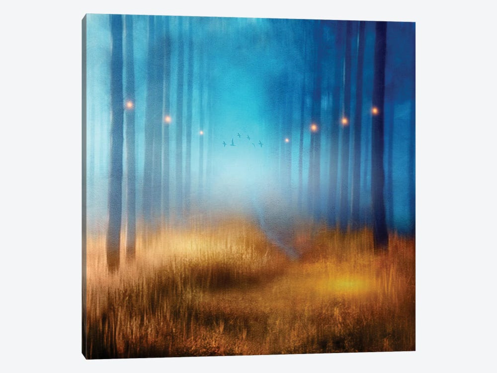 Blue Melody… by Viviana Gonzalez 1-piece Canvas Artwork