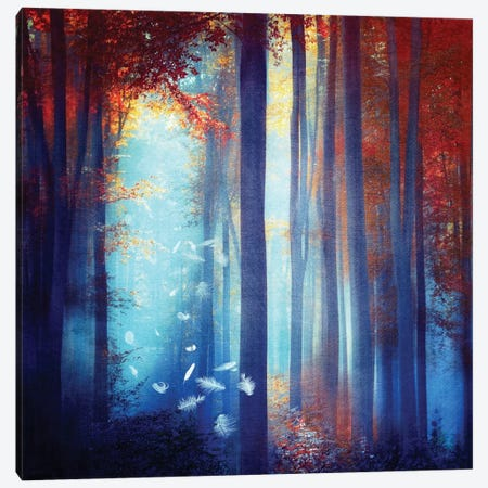 Dreams In Blue Canvas Print #VGO49} by Viviana Gonzalez Canvas Print