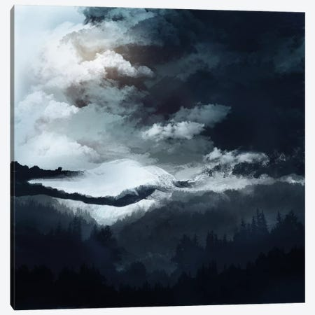 White Mountains Canvas Print #VGO62} by Viviana Gonzalez Art Print