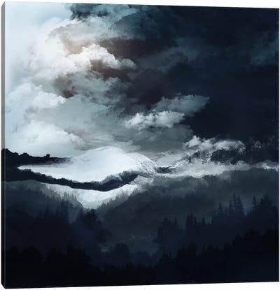 White Mountains Canvas Art Print